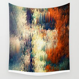 Red Pattern - Seminal Regression - Limited Edition 30 ex. Wall Tapestry