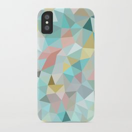 Pastel Tris iPhone Case