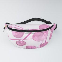 Pink Leaf design Fanny Pack