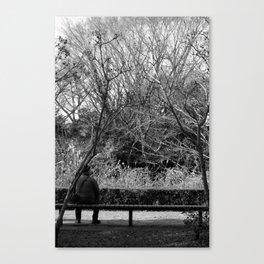 The Bird-Watcher Canvas Print