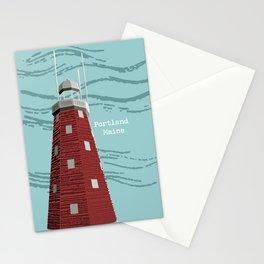 Portland Maine Observatory Stationery Cards