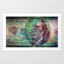 In Dependence We Trust Art Print