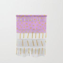 AZTEC BABE - Modern Pink Furniture Wall Hanging