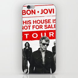bon jovi this house not for sale tour 2019 basket iPhone Skin