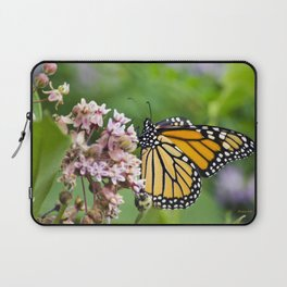 Colorful Monarch Butterfly Laptop Sleeve