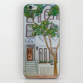 Brownstones iPhone Skin