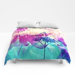 Butterfly in Wonderworld 2 Comforters