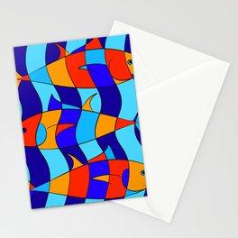Elsebius - Tres Pescados Stationery Cards