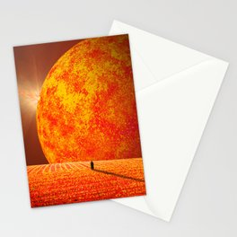 Scorched Earth Stationery Cards