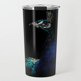 Proud Peacock Travel Mug