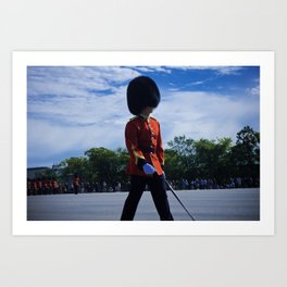 The Guard Art Print