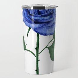 Blue Rose, Single Travel Mug