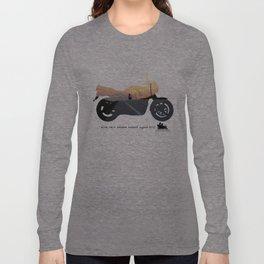 motorbike- photo of freedom Long Sleeve T-shirt