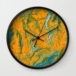 Topographie concepteur 1 landscape Wall Clock