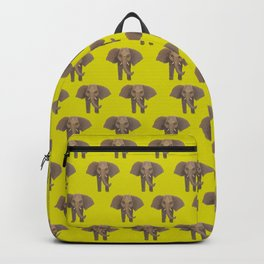 Elephants in Formation Backpack