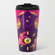 Mystic Bitcoin Metal Travel Mug