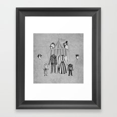 Just Popping Out For Some Air Framed Art Print