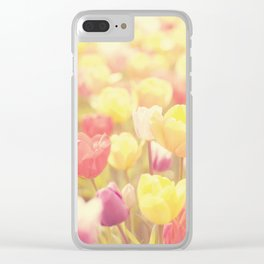 life isn't a tiptoe through the tulips ... Clear iPhone Case