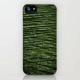 Emerald Elegance iPhone Case