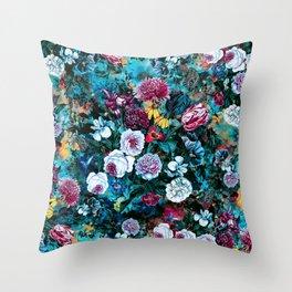 Night Garden Rc Throw Pillow