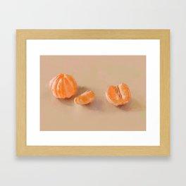 Clementines Study Framed Art Print