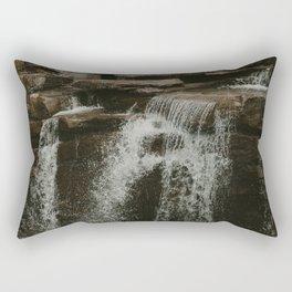 Baby Athabasca Falls Rectangular Pillow