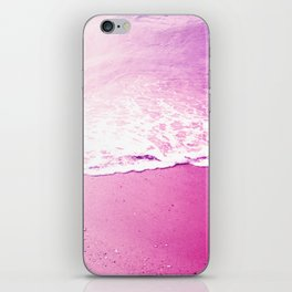 On the foam of the sea iPhone Skin