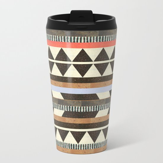 DG Aztec No.1 Metal Travel Mug