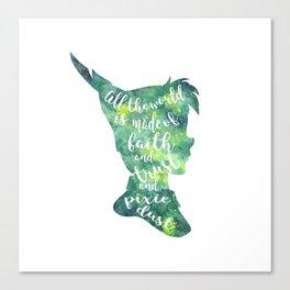 Peter Pan Pixie Dust Canvas Print
