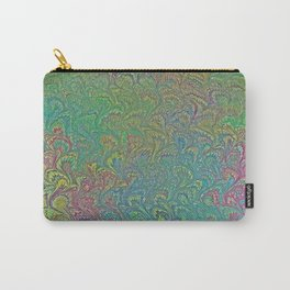 Tropical Frog Feet Marbling Carry-All Pouch
