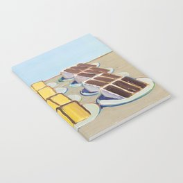 """Classical Masterpiece """"Cake Rows"""" by Wayne Thiebaud,1920 Notebook"""