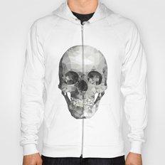 Skull Plain White Hoody
