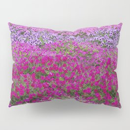 Waves of color on a sea of Petunias Pillow Sham