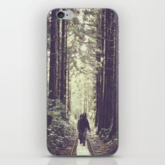deep forest iPhone & iPod Skin