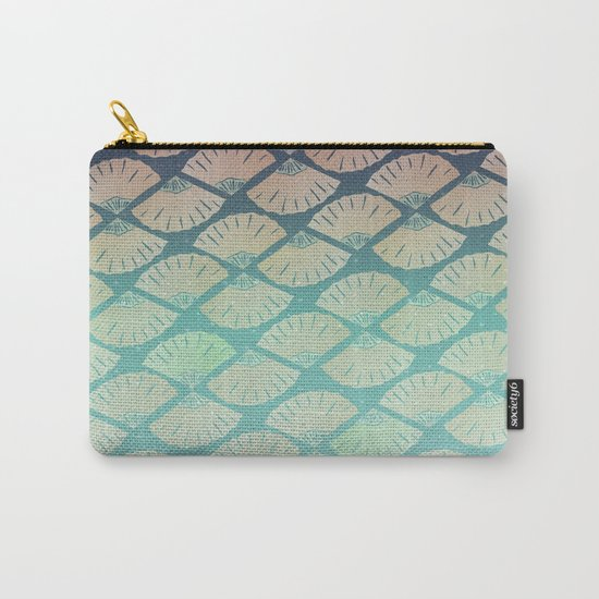 Wind Pattern Carry-All Pouch