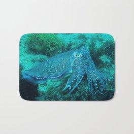 Cuttlefish Mating Dance Bath Mat