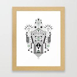 Vector Inca Framed Art Print