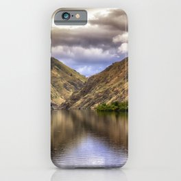 Snake River in Hells Canyon iPhone Case