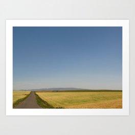 An Idaho Road Art Print