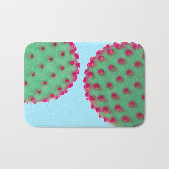 Color Cactus Bath Mat