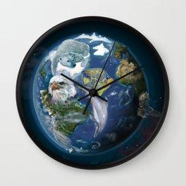 Planet Earth / Planeta Tierra Wall Clock