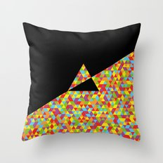 The Dark Side Of The Moon Throw Pillow