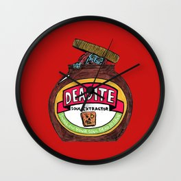 Deadite: The Evil Spread (Cap Off Version) Wall Clock