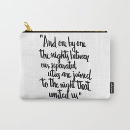 Neruda's nights Carry-All Pouch