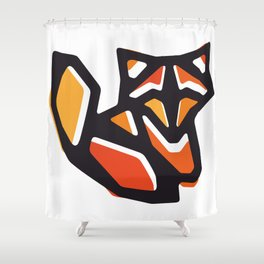 Anigami Fox Shower Curtain