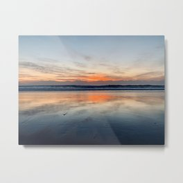 Sunrises over Miami Metal Print