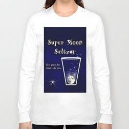 Super Moon Seltzer  Long Sleeve T-shirt