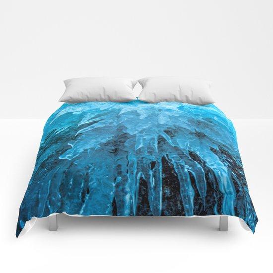 Ice Stalactites Comforters