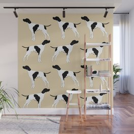 English Pointer Dog Art Wall Mural