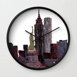 Standing Watch Cutout Wall Clock